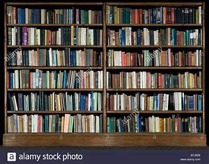 High Resolution Image Of Books On A Bookshelf On A Black ...