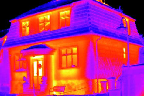 infrared thermometer  easily spot heat leaks