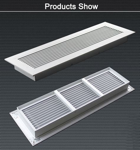 Metal Floor Furnace Grates by Hvac Heater Furnace Register Cover Aluminum Brass Floor