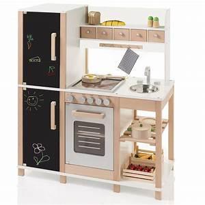 Sun 04139 kinderkuche mit tafel aus holz mit kuhl for Spielküche sun