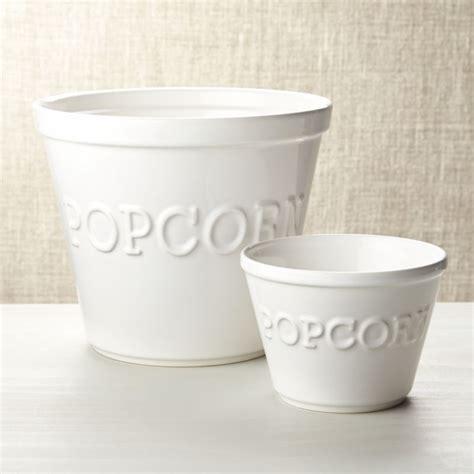 popcorn bowls crate  barrel