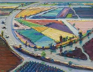 Wayne Thiebaud (b. 1920) , River Bend Farms | Christie's