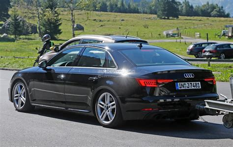 2017 Audi S4 Spotted Testing In The Alps The Camouflage