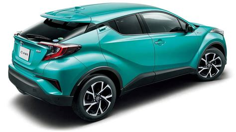 Toyota Chr Hybrid Hd Picture by New Toyota C Hr Hybrid Back Side Photo Image Chr Rear