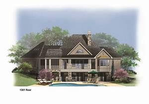 Lake House Plans With Basement 1301r House Plan Hillside