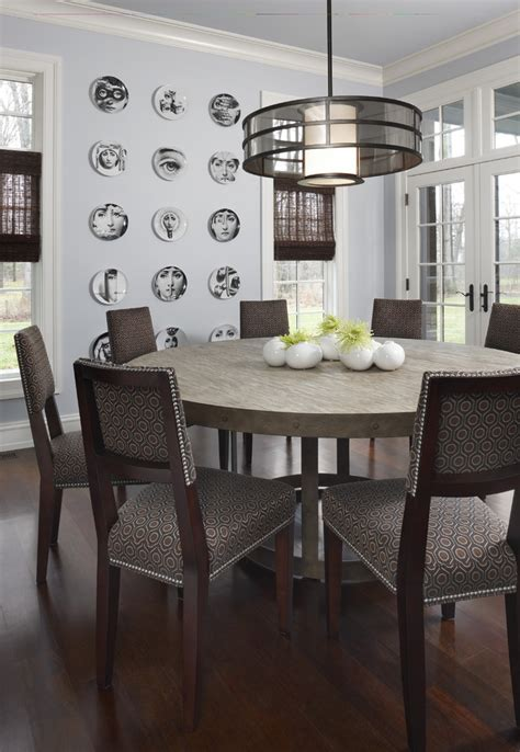 60 Inch Round Dining Table Dining Room Contemporary With