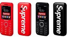 The Supreme-branded BLU Burner Phone is peak tech ...