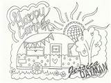 Camper Coloring Pages Rv Camping Printable Patterns Happy Campers Colouring Adult Theme Drawing Clip Felt Etsy Fun Stitch Caravans Getdrawings sketch template