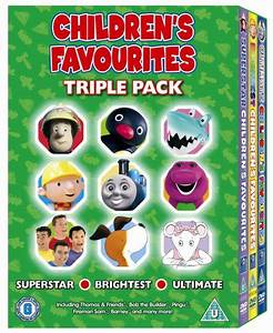 KidVidUK: Fireman Sam: Children's Favourites - Triple Pack ...
