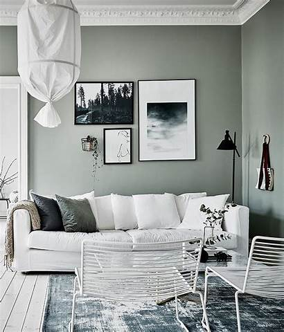 Grey Living Interior Decoration Designs