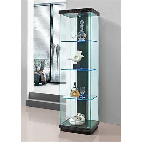 glass curio cabinet led light modern led cabinet buy led