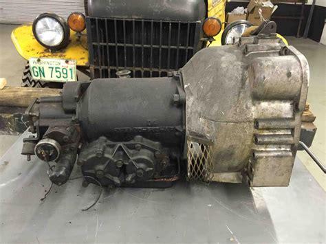 borg warner dg  mj automatic transmission detroit gear