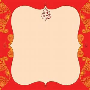 Indian wedding card empty blank wedding invitation for Blank indian wedding invitations templates