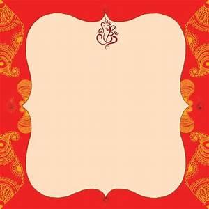 indian wedding card empty blank wedding invitation With blank hindu wedding invitations