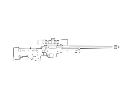 Sniper Art Drawing Mungfali