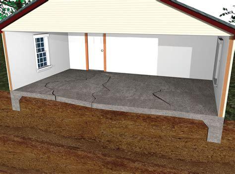 floor basement floor heaving simple on sinking uneven