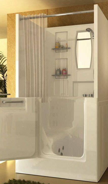 walk  tub shower tiny house bathroom walk  tub