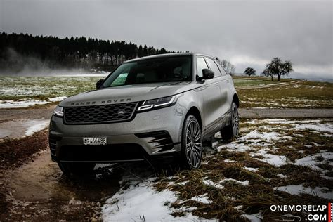 fahrbericht range rover velar   edition