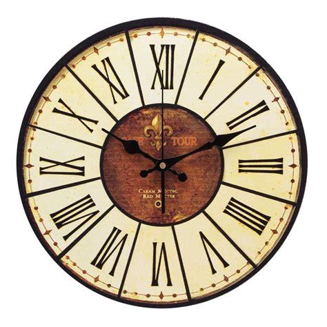cuisine romaine antique yesurprise pendule murale en bois mdf rond horloge diy