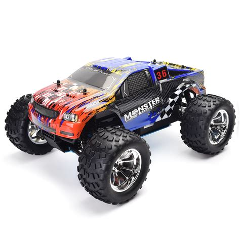 nitro rc monster trucks hsp 1 10 scale rc truck models nitro gas power off road