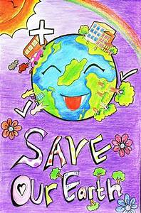 Handmade Posters on Save Earth from Global Warming 2016 ...