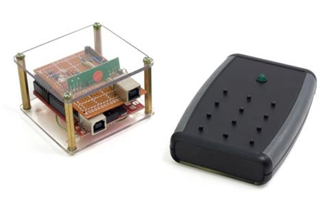 Keymote Wireless Computer Remote Built To Emulate Usb