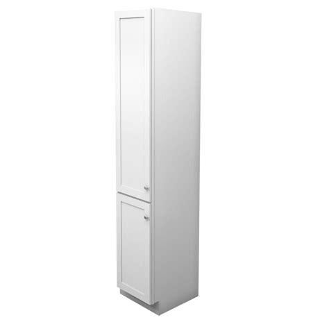 white linen cabinet kraftmaid 15 in w x 88 1 2 in h x 21 in d vanity