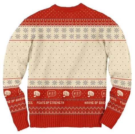 how to sweater seinfeld festivus for the rest of us pole sweater