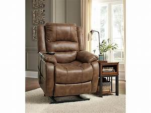 Signature Design By Ashley Living Room Power Lift Recliner