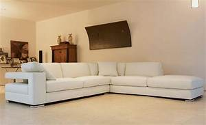 Beautiful white l shape sofa design id509 l shape sofa for Home furniture online at low price