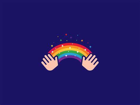 beautiful rainbow logo designs ideas examples design trends premium psd vector downloads