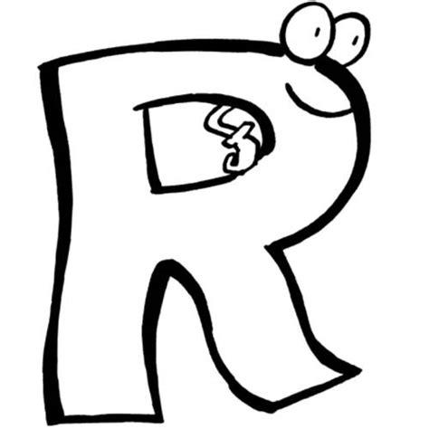 Einladungskarte mit ms office erstellen; Kostenlose Malvorlage Buchstaben lernen: Buchstabe R zum ...