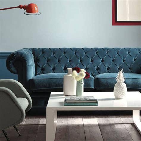 canapé velours bleu les 25 meilleures idées de la catégorie canapé en velours
