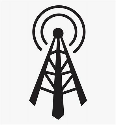 Radio Antenna Vector Signal Clipart Clipartkey