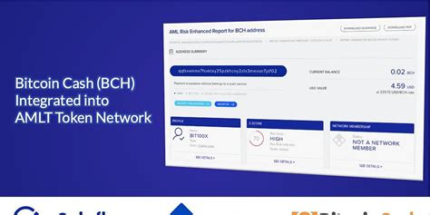 It's a permissionless, decentralized cryptocurrency that requires no trusted third parties and no central bank. Bitcoin Cash (BCH) Integrated into AMLT Token Network