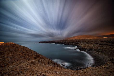 photography nature clouds landscape sea long exposure
