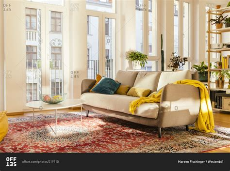 Living Room Rug Photos by Living Room Area With Rug Stock Photo Offset