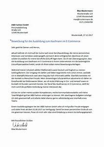 Bewerbung Als Kaufmann Im Einzelhandel : bewerbung als kaufmann kauffrau im e commerce ~ Watch28wear.com Haus und Dekorationen