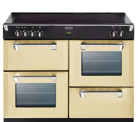 buy stoves richmond ei electric induction range cooker champagne