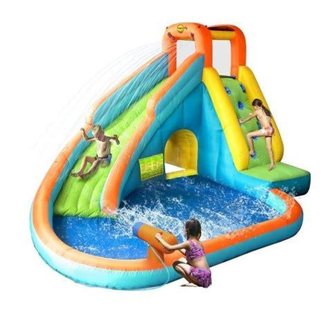 piscine gonflable avec siege hop château aire de jeux gonflable aquatique avec