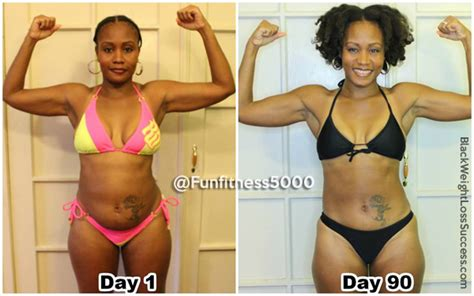 aisas  month weight loss transformation black weight