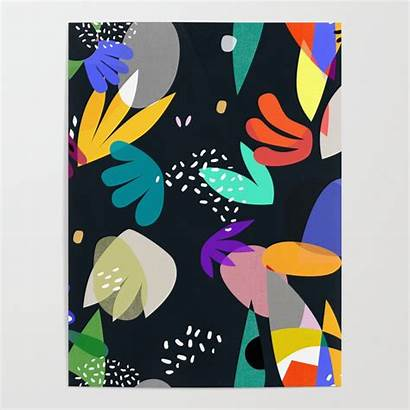 Matisse Poster Cutouts Society6 Posters