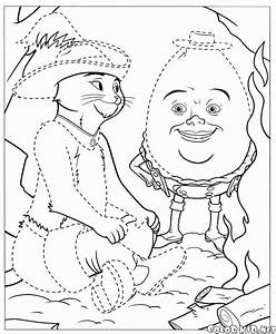 Coloring Page Puss In Boots