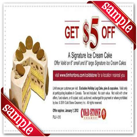 coldstone creamery coupon 2016 2017 best cars review