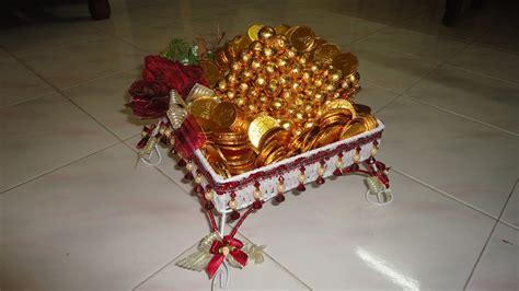 shivanggi engagement tray decoration