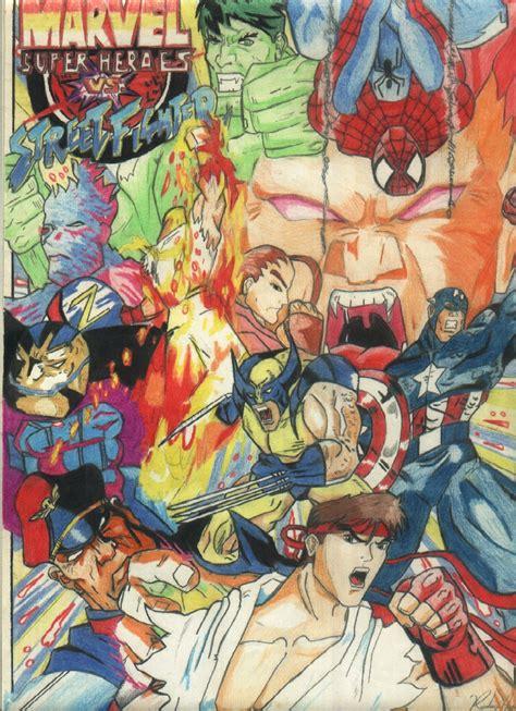 Marvel Vs Street Fighter By Rodrigorainober On Deviantart