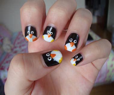 animal nail designs nail animal nails panda nails penguin nails