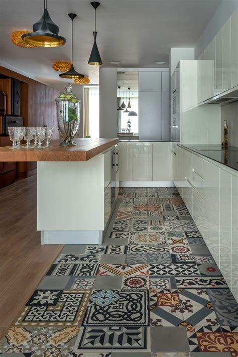 comptoir ciment cuisine 1001 idées pour décorer l 39 espace avec le sol vinyle