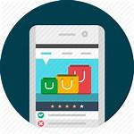 Mobile App Shopping Icon Apps Cart Application