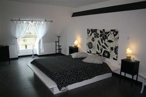chambre noir et gris chambre deco noir et gris visuel 4